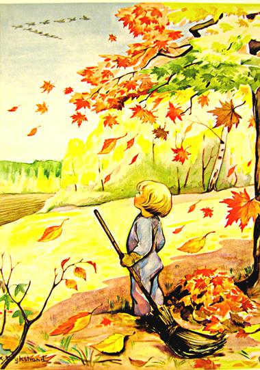 «картинки осень в лесу для детей детского сада» — карточка.